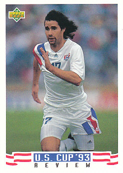Roy Wegerle USA Upper Deck World Cup 1994 Preview Eng/Spa US Cup 93 Review #133