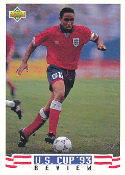 Paul Ince England Upper Deck World Cup 1994 Preview Eng/Spa US Cup 93 Review #136
