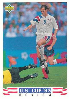 Thomas Dooley USA Upper Deck World Cup 1994 Preview Eng/Spa US Cup 93 Review #137