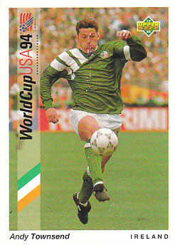 Andy Townsend Republic of Ireland Upper Deck World Cup 1994 Preview Ita/Spa #44