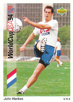 John Harkes USA Upper Deck World Cup 1994 Preview Ita/Spa #46
