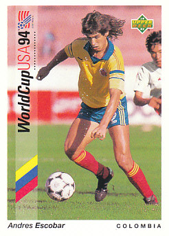 Andres Escobar Colombia Upper Deck World Cup 1994 Preview Ita/Spa #61