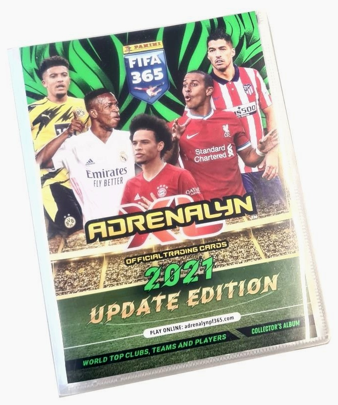 Panini Adrenalyn XL FIFA 365 2021 UPDATE Edition Binder Sběratelské album
