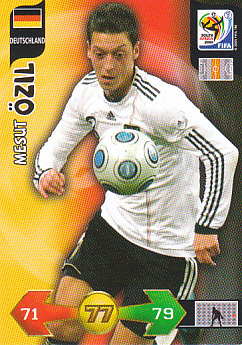 Mesut Ozil Germany Panini 2010 World Cup #94