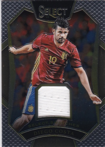 Diego Costa Spain JERSEY 2016/17 Panini Select Select Swatches /199 #SSDC