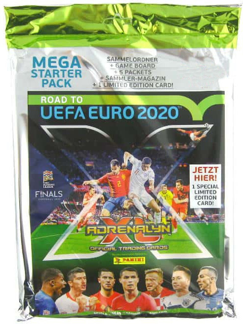 Starter pack Panini Adrenalyn XL Road To Euro 2020