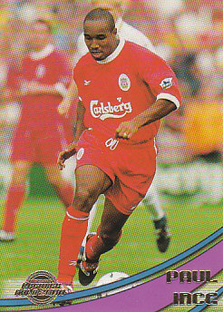 Paul Ince Liverpool 2000 Merlin's Premier Gold #51