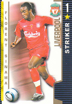 Florent Sinama Liverpool 2004/05 Shoot Out #197