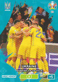 Ukraine Qualified Panini UEFA EURO 2020 CORE - Magic Moment #023