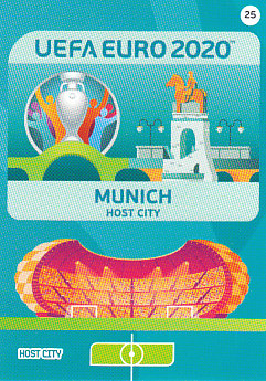 Munich Germany Panini UEFA EURO 2020 CORE - Host City #025