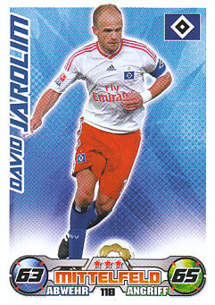 David Jarolim Hamburger SV 2009/10 Topps MA Bundesliga #118