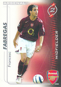 Francesc Fabregas Arsenal 2005/06 Shoot Out #10