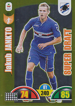 Jakub Jankto Sampdoria 2018/19 Panini Calciatori Adrenalyn XL Super Draft #421