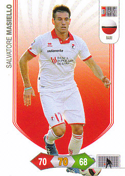 Salvatore Masiello Bari 2010/11 Panini Calciatori Adrenalyn XL #4