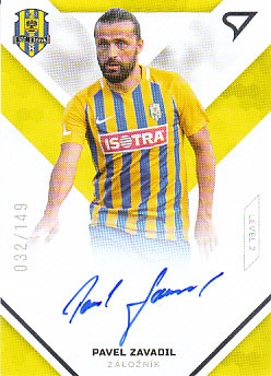 Pavel Zavadil Opava SportZoo FORTUNA:LIGA 2020/21 Signed Stars Level 2 /149 SS2-18