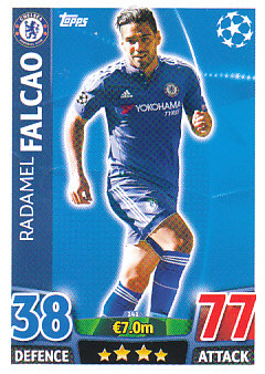Radamel Falcao Chelsea 2015/16 Topps Match Attax CL #141
